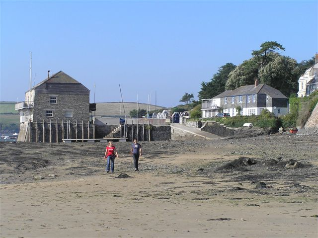 Rock sailing club, the center of focus of the village.