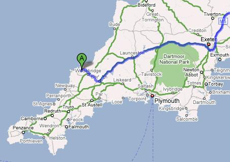 Directions To Rock Cornwall